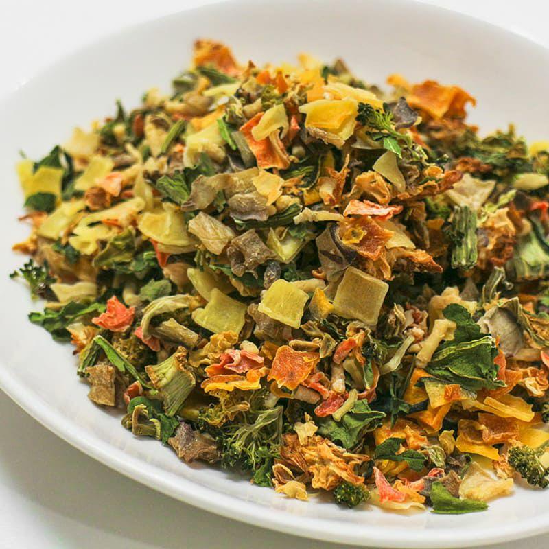 【無添加 国産】北海道十勝産 季節の乾燥野菜ミックス 200g