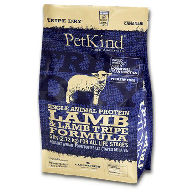 【PetKind】トライプドライ GOLD LINE SAPグリーンラムトライプ 小粒 2.72kg
