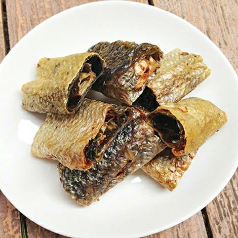 青森産鮭皮ロールガム55g