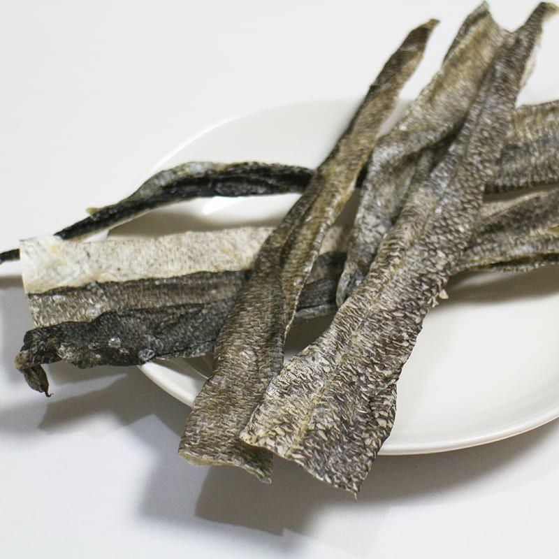 【無添加 国産】北海道産 真鱈の皮 100g