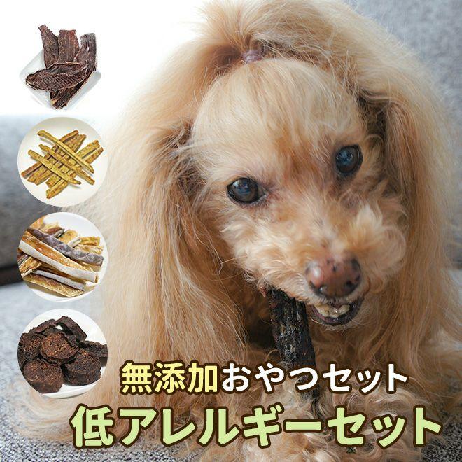 【無添加犬おやつ お試し】リリーセット(低アレルギーセット)